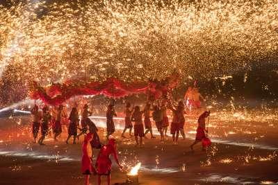 Fire, Wu  Hung Sen , Taiwan