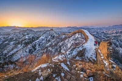 SUNRISE AT Great Wall 2, Hung  Yuk Fung Garius , Hong Kong