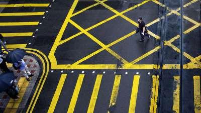 Yellow Zebra Line 02, Chan  H. W. , Hong Kong