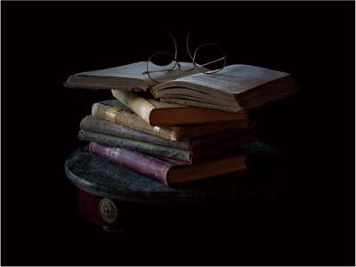 Old Books And Old Glasses, Pacton  Greg , Usa