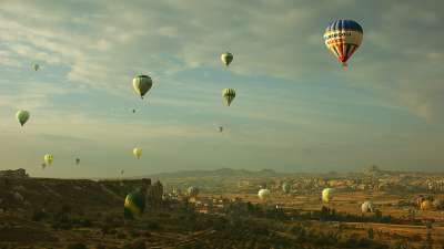 Morning Over The Cappadocia, Dakovic Svajcer  Kornelia , Serbia