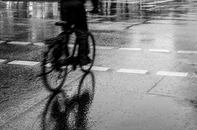 Bike And Rain, Kuczynski  Sebastian , Poland