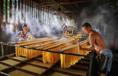 Making Beancurd Stick, Deng  Wendy , Australia