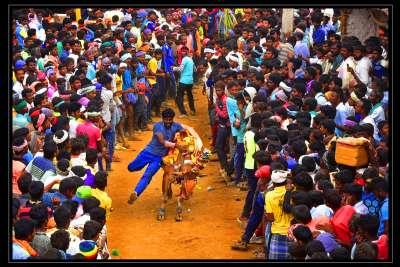 Race For Stop, Mural  Satish B , India